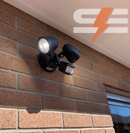 Motion Sensor Light Installation
